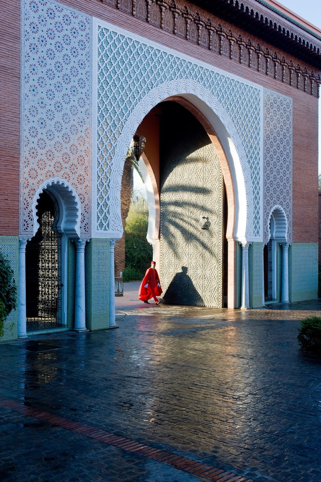 Palace Door Marrakech Morocco