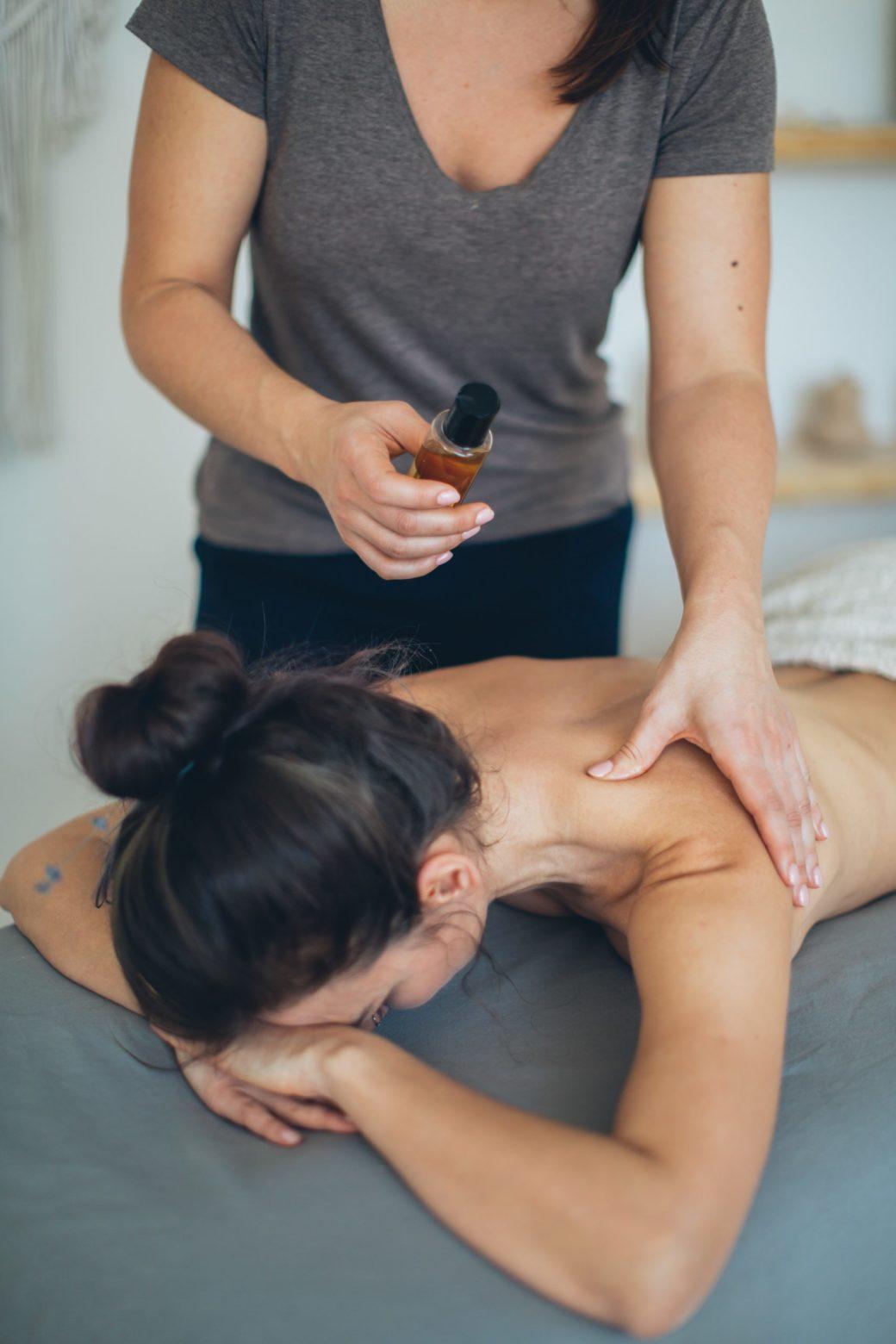 Argan Oil massage
